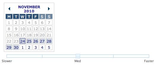 Algunos elementos de formulario complejos y no nativos, creados con JavaScript