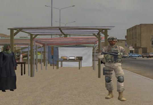 Figura 2.4 Virtual Iraq/Afganistán®. Mundo virtual para tratar veteranos de guerra