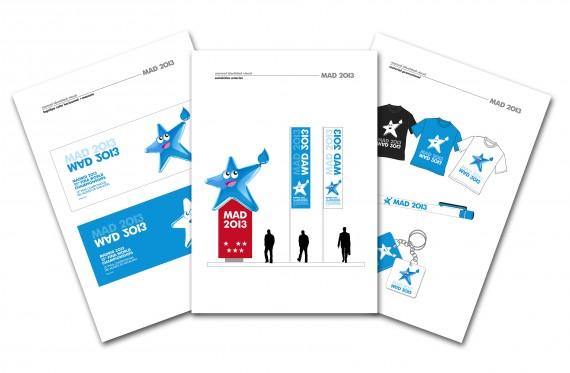 Ejemplos de aplicaciones de esta nueva imagen para el manual de identidad