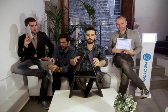 Integrantes de la empresa Padcelona