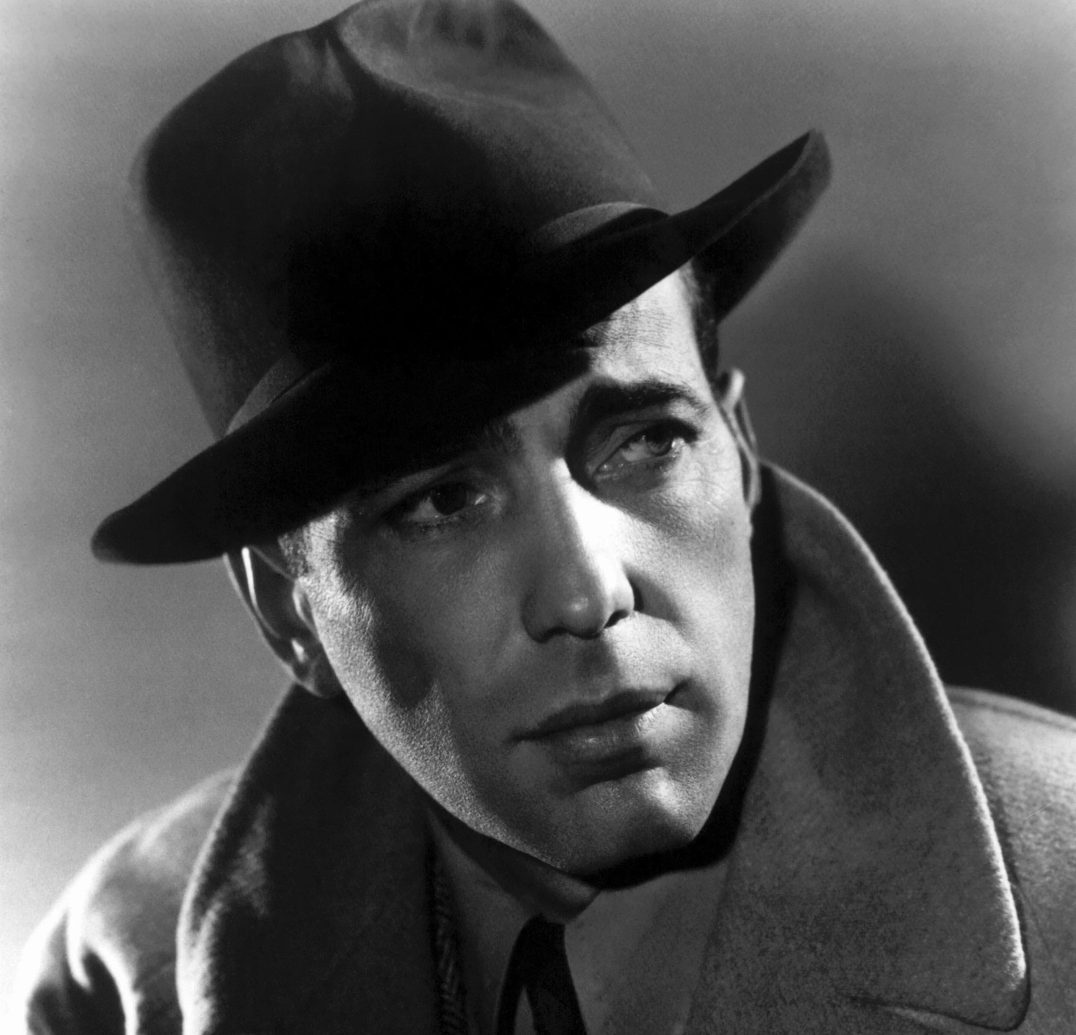 Humphrey Bogart en su papel como Rick Blain en Casablanca