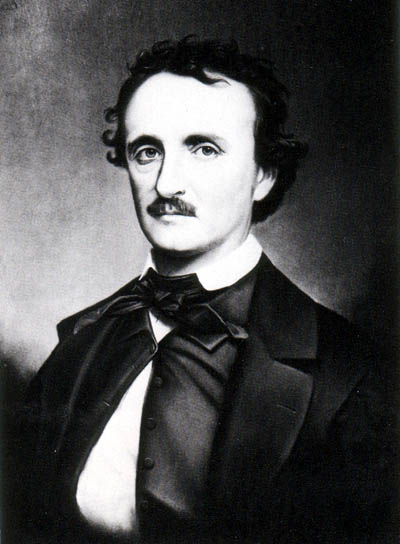 Retrato de Edgar Allan Poe.