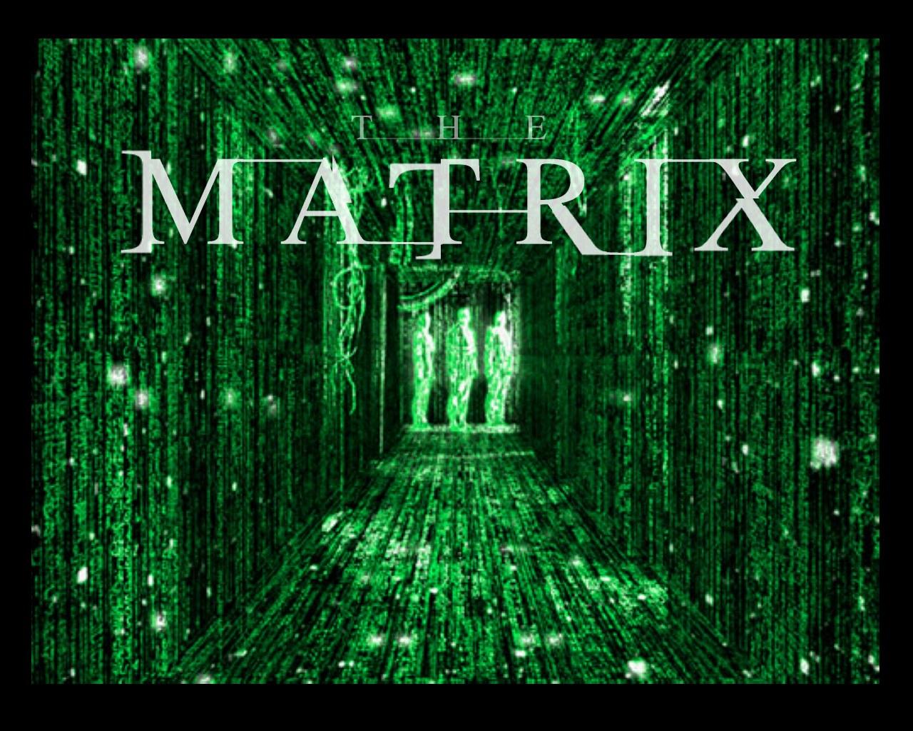 Imagen promocional de la película Matrix