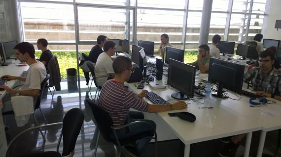 Trabajadores de la empresa Plunge Interactive