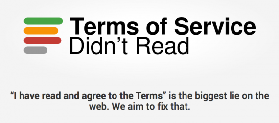 Terms of Service Didn't Read. I have read and agree to the terms is the biggest lie on the web. We aim to fix that.