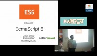 Captura de pantalla de video de ecmascript