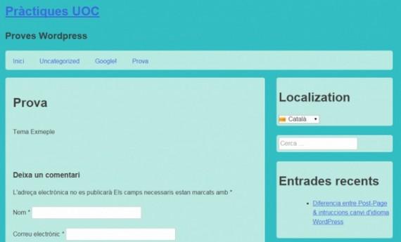 Nuevos colores de fondo y de sección de nuestro tema de WordPress con CSS