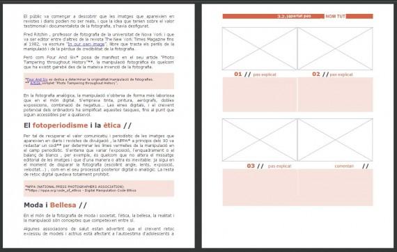 2 páginas del libro
