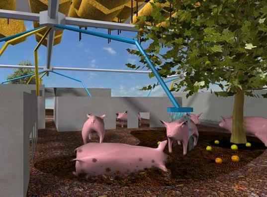 """""""Pig City"""", o cómo tomar conciencia de la problemática del alto consumo de carne y de sus soluciones.."""