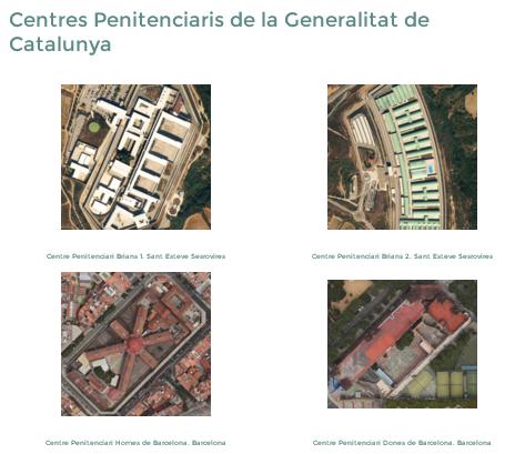 """Sección """"Centros penitenciarios"""" de la web. Toni Farelo Gil. Els centres penitenciaris a Catalunya. Una visió general."""