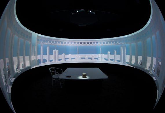 Towards Biology (instalación 360º en la Biennale de Venecia de 2014 para Taller de Arquitectura Ricardo Bofill)