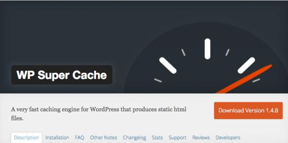 El plugin de WP Super Cache es uno de los más populares en WordPress