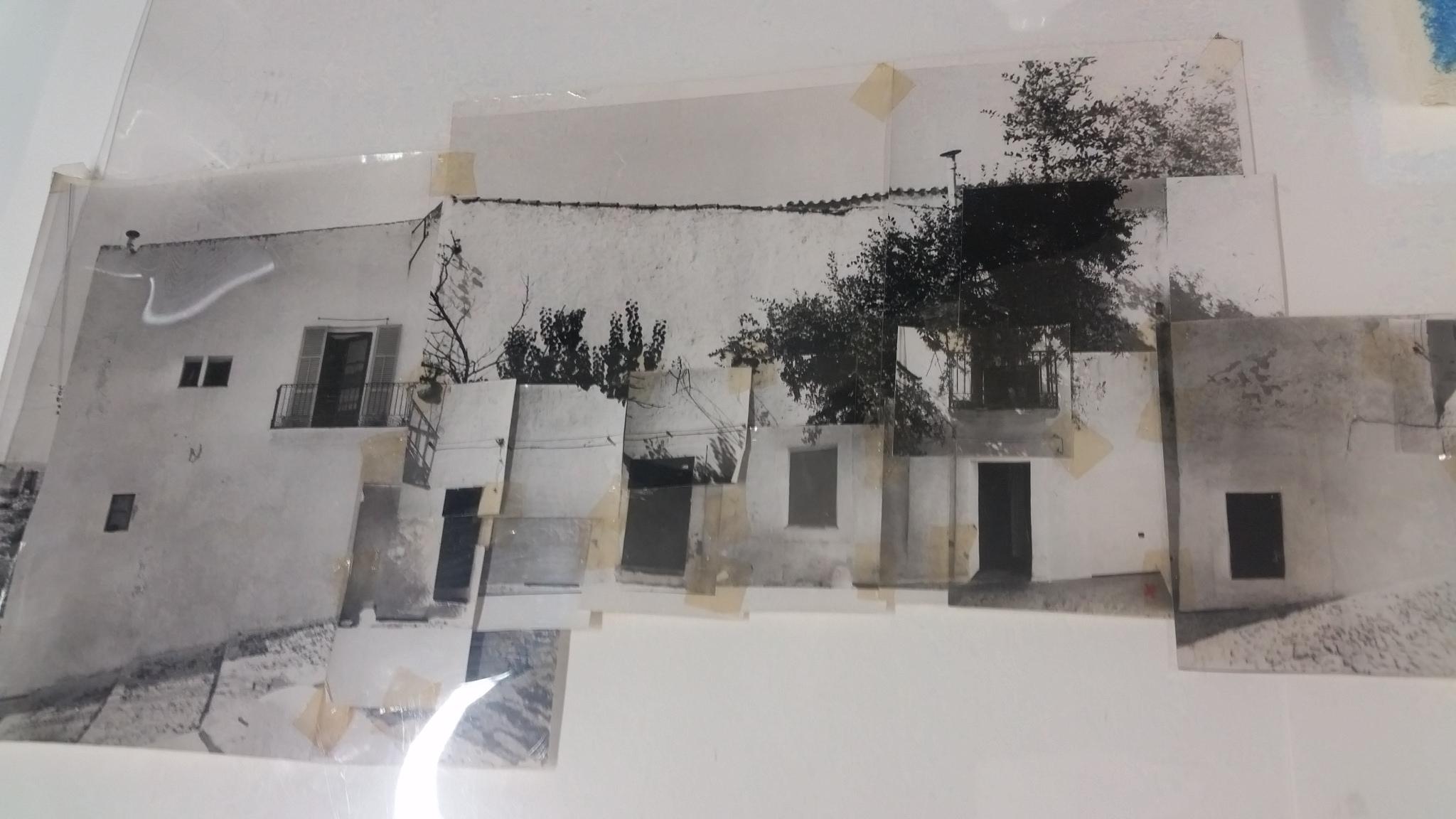 Fotografías originales (actualmente en restauración) que Luis Cervera Miralles usó para dibujar las planimetrías en su libros