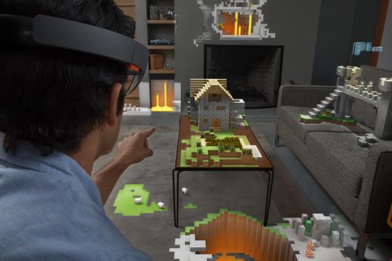 Minecraft ha sido uno de los primeros juegos en proponer una versión en VR