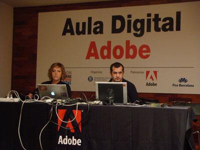 Ana Mesas y Toni Lirio, profesionales de Adobe