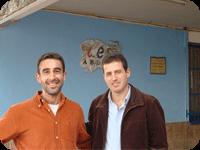Gonzalo Trespaderne y Manuel Merlo
