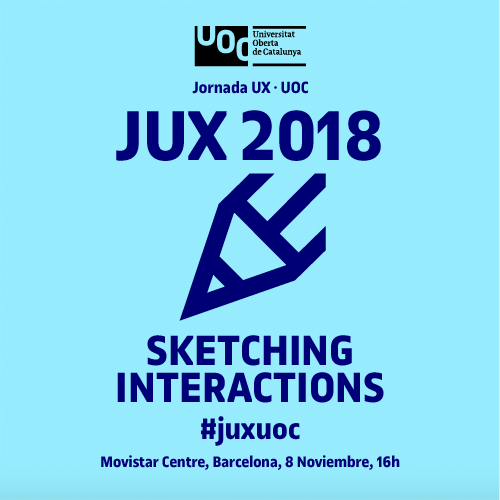 Jornada UX UOC 2018 Sketching Interactions