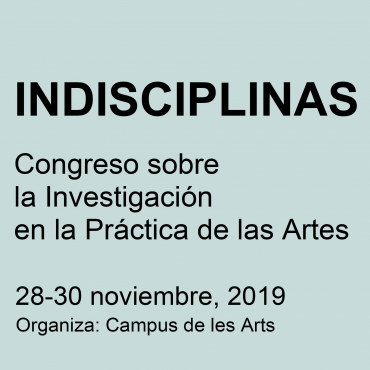 Congreso Indisciplinas