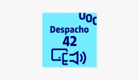Logotipo del podcast despacho 42