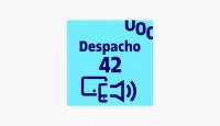 Logotipo del podcast despacho 42
